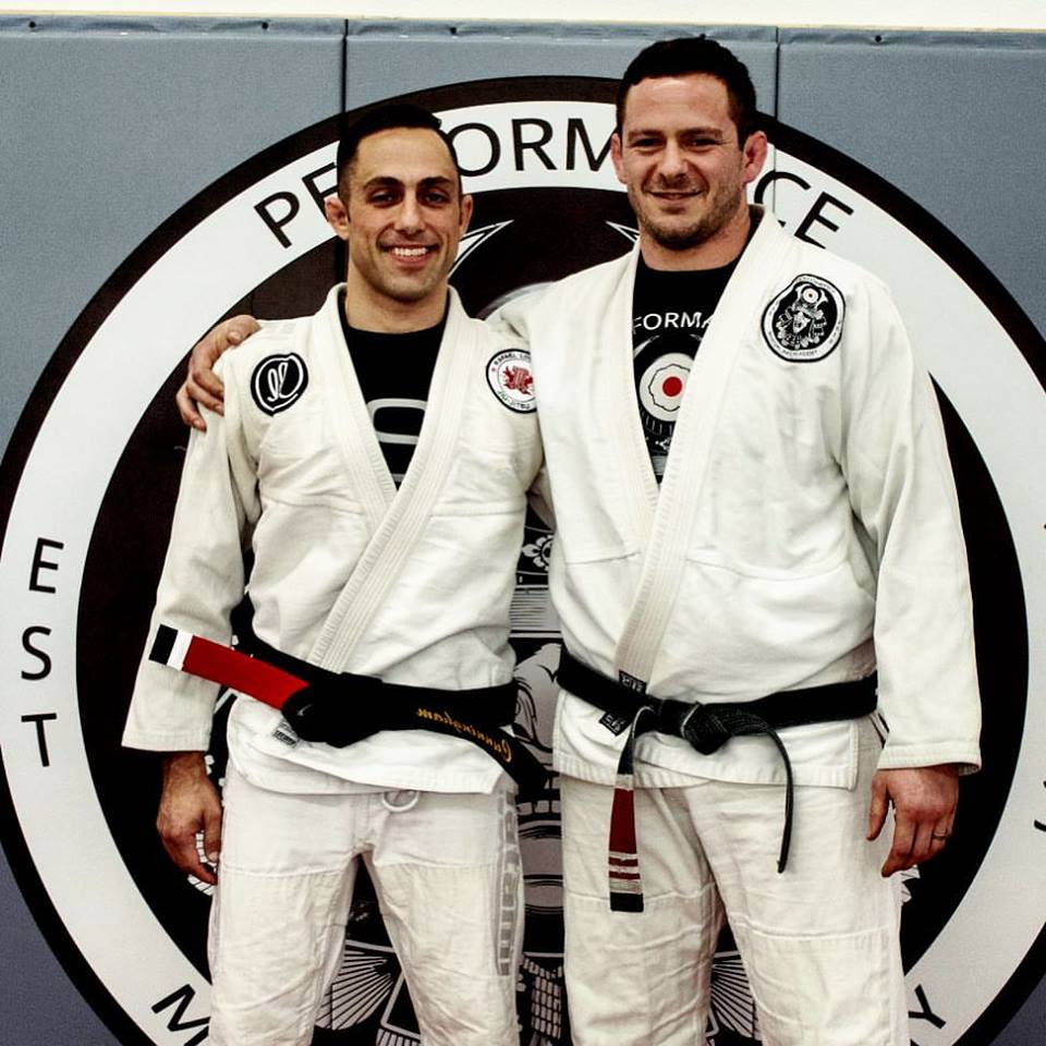 Ryan Cunningham promoted to black belt by Professor Ben Baxter